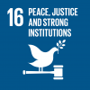 Sustainable Development Goal : Peace, justice & strong institutions